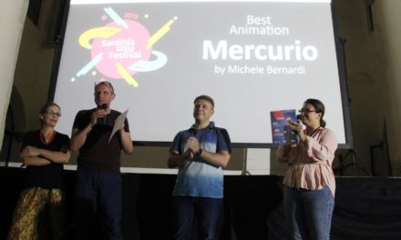 """Mercurio"" by Michele Bernardini wins the Animation Award at the Sardinia Film Festival"