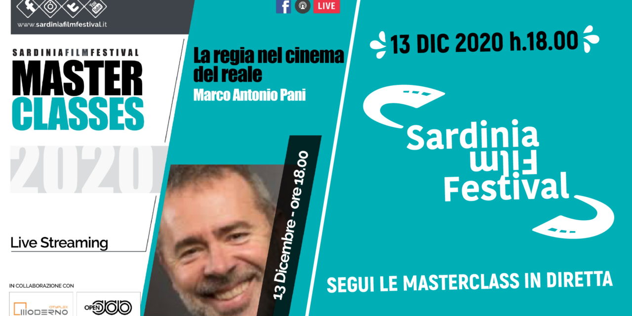 MASTER CLASSES / Marco Antonio Pani – 13 Dicembre h. 18.00
